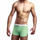Gli uomini appoggiano l'usura Pocket di sport di Shorts di yoga del Drawstring della chiusura lampo multicolore