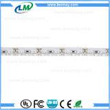 Luz flexível da fita das tiras do diodo emissor de luz da opinião lateral de SMD335 DC12V 9.6W