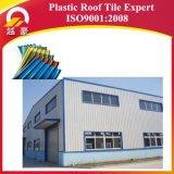 Het Stabiele Trapezoïdale Dakwerk UPVC van uitstekende kwaliteit van de Kleur