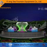 Fuente material de madera al aire libre de la piscina de la música del conjunto Ss304