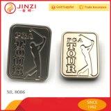 Значок логоса металла сплава цинка материальный выполненный на заказ