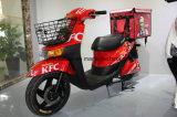 Motocicleta eléctrica de la batería de plomo de la salida de los alimentos de preparación rápida
