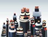Cabo distribuidor de corrente blindado isolado PVC de cobre de fio de aço do condutor