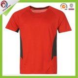 Тенниска изготовленный на заказ черного красного зеленого пустого обжатия Dri подходящего идущая