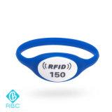 管理または支払のための125kHz RFIDの時計ケースのシリコーンのリスト・ストラップ