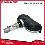Capteur de pression des pneus du capteur TPMS 42753-TK4-A010 pour Honda Civic, Element, Odyssey, CR-V, CR-Z, Fit, Insight; ACURA CSX