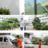 Mangueira reforçada trançada PVC Ks-12158ssg da água da mangueira da fibra