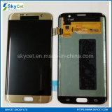 Kwaliteit een S7 LCD van de Rand Vertoning van het Scherm voor de Rand van de Melkweg van Samsung S7