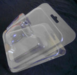 PVC transparente PVC PET Clam shell Blister Packing Box (pacote)