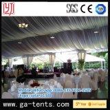 Barraca da decoração do casamento com tampa de PVC de alumínio do frame