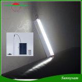 Lámpara fluorescente solar de Enmergency de 2016 nuevos productos de la iluminación de la lámpara elegante casera de interior teledirigida ligera recargable del techo con la carga de la CA