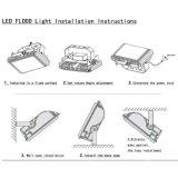 Lumière D'inondation Extérieure de la Qualité LED de Lumières dans 10W 20W 30W 40W 50W 60W 70W