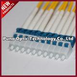 男性LSZHの充満円形ケーブルへの小型OS2 MPOの光ファイバケーブルの単一モードの男性