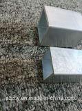 6000 séries d'aluminium d'alliage ont expulsé le tube carré 6X6 ~200X200mm