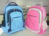 (KL055) Sacs roses faits sur commande de sac à dos de sports en plein air de polyester de qualité