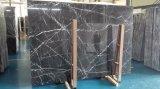 黒いMarquinaの大理石の平板のタイル