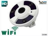 3PCS IRのアレイFisheyeの機密保護IPのカメラの監視装置
