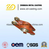 Bâti en acier personnalisé pour les pièces ferroviaires