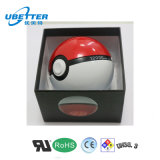 10000mAh Manual Banco de energia portátil Pokeball Power Bank para carregador de bateria