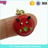 Custom Metal Alloy Gold Jewellery Enamel Charm with Lobster Clip for Wholesale
