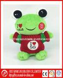 최신 판매 아기 제품을%s 귀여운 견면 벨벳 개구리 장난감