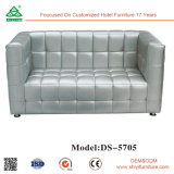 Neue Entwurfs-Wohnzimmer-Möbel mit ledernem Sofa
