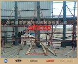 Idraulico di sollevamento usato per la costruzione del serbatoio