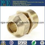 Funda de cobre amarillo del tubo del CNC de la alta precisión que trabaja a máquina