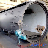 fibra aprovada do carbono de 2000X6000mm ASME que dá forma ao forno (SN-CGF2060)