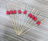 格好良いバーベキューのツールのタケフルーツの焼串か棒または一突き(BC-BS1045)