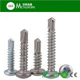 Собственной личности /Countersunk нержавеющей стали винт плоской головной Drilling (DIN7504)