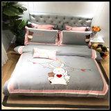 工場供給のホテルのアパートのための贅沢な綿のホテルの寝具セット