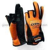 Снасть перчаток рыболовства неопрена (GNFG02-01)