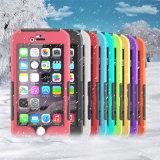 Le cas de trois épreuves pour l'iPhone 5.5inch imperméabilisent/insalissable/Snowproof