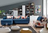 Base di sofà d'angolo con l'alto schienale e la memoria