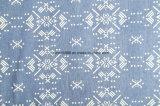 Baumwollgewebe-4oz gedrucktes Denim-Gewebe 100% der Dame-Jeans