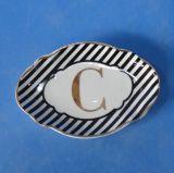 창조적인 디자인 세라믹 Homeware 식기류 취사 도구 격판덮개 접시