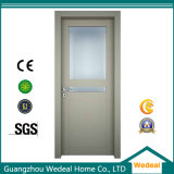 Porte composée en plastique en bois de porte intérieure de la qualité WPC