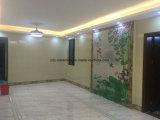 Mattonelle di pavimento di pietra di marmo naturali di Foshan di colore di colore rosa del materiale da costruzione
