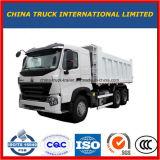 Lage Prijs 10 Gebruik van de Voorwaarde 30tons van Wielen 371HP het Uitstekende voor de Vrachtwagen van de Stortplaats van Afrika HOWO