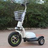 """trotinette"" elétrico da mobilidade do motor do cubo de 500W 3-Wheel para o adulto"
