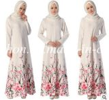 De kleurrijke Textiel van de Stof van Chenille van de Kleding van de Vrouw van de Polyester Moslim