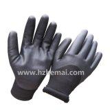 Изолированная двойным покрынная вкладышем перчатка работы зимы нитрила Sandy мягкая