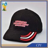 la mode conçoivent la casquette de baseball en fonction du client avec le logo de broderie