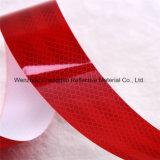 Vermelho e Branco Mirco Prismatic DOT fita reflexiva para veículo (C5700-B (D))