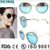 중국 Sunglass 제조자 신식 라운드 Tr90 색안경