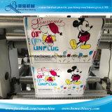 Máquina de impressão de Flexo do papel do controle da correia de 8 cores