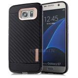 Samsung 은하 S7를 위한 튼튼한 탄소 섬유 이동 전화 상자