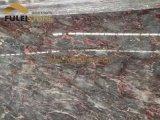 Mattonelle di marmo rosse della lastra di marmo viola della Rosa
