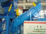 Lavadora agrícola de la película del PE de los PP del plástico